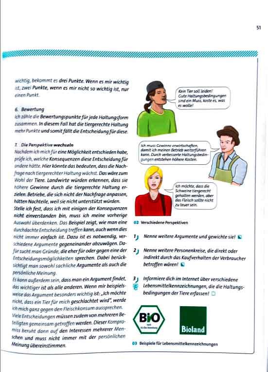 Finale Illustration als Abbildung im Biologie Schulbuch (d.h. Biosphäre. Cornelsen Verlag GmbH, Berlin)