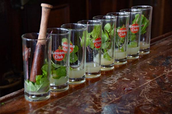 Bar El Floridita Havanna Kuba