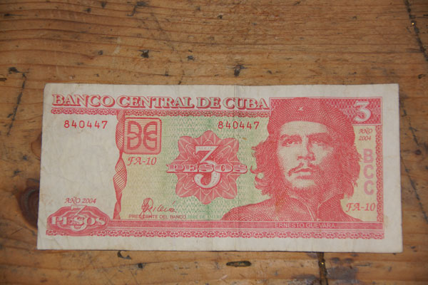 Kubanischer Geldschein