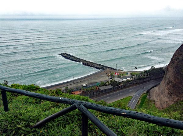 Strand von Lima