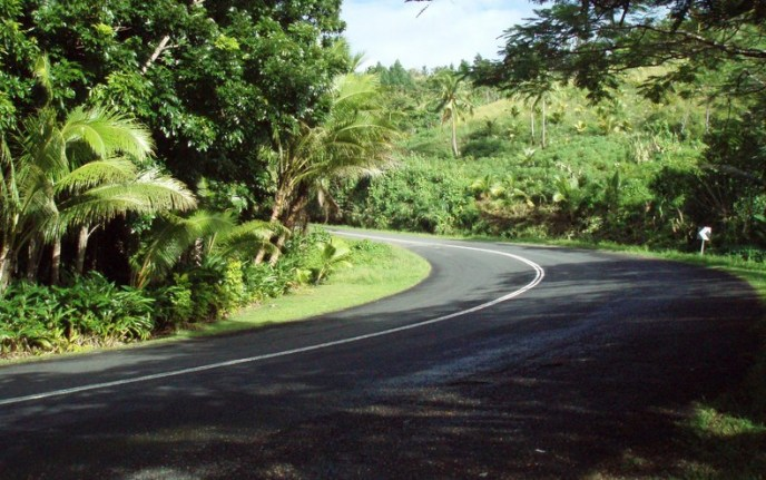 Queens Road auf Fiji