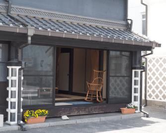 Traditionelles japanisches Haus