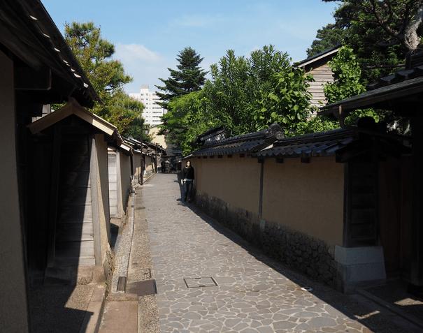 Samuraibezirk in Kanazawa