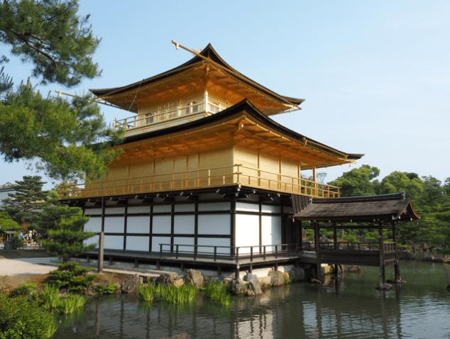 Japan_Kyoto_Kinkakuji-Tempel_1