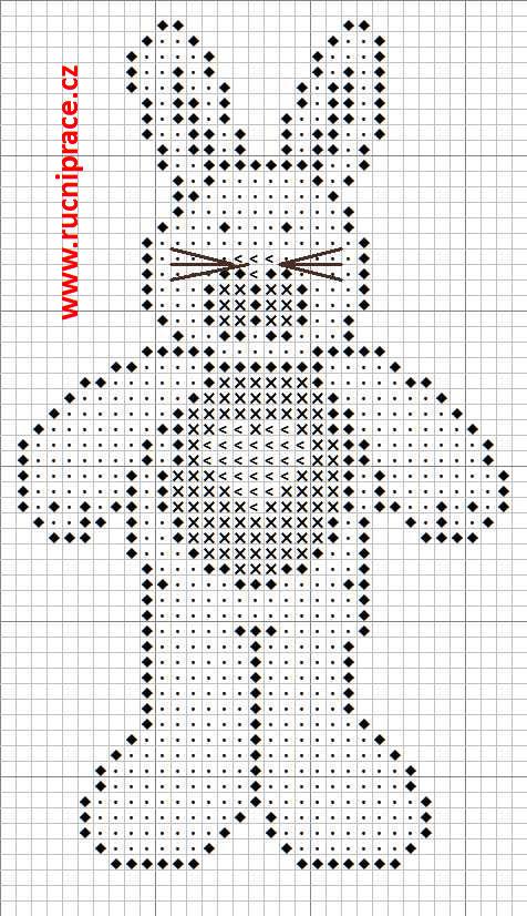 Rabbit, pattern, cross stitch, free patterns, free cross