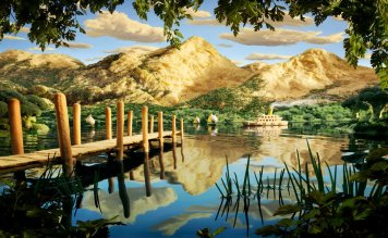 Fotograful Carl Warner realizeaza peisaje din mancare