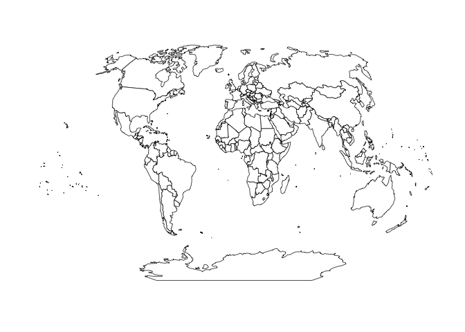 A path towards easier map projection machinations with ggplot2 rud while that works you have to pre project any lines points etc as well before plotting them with the map for example here are the gumiabroncs Choice Image