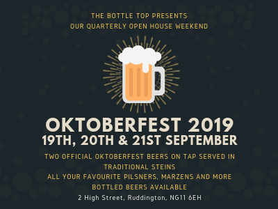 'Oktoberfest Party' @ The Bottle Top