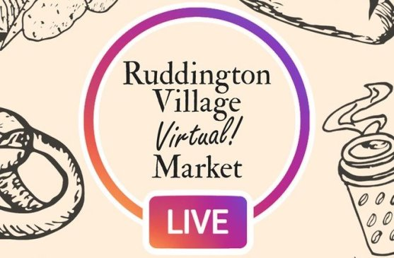 "Ruddington Village 'Virtual' Market @ Instagram ""Live"" webcast"
