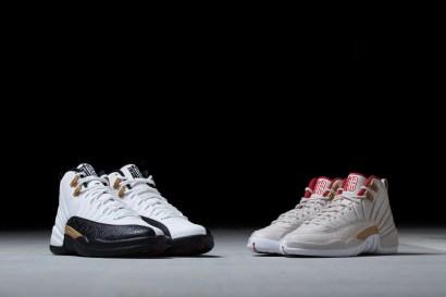 "Air Jordan 12 ""Chinese New Year"" & Air Jordan 12 GG ""Chinese New Year"""