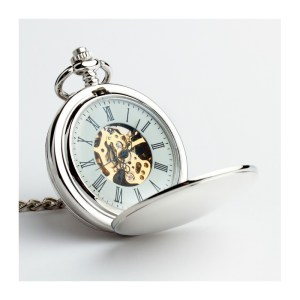 Zegarek dwustronny – Silver