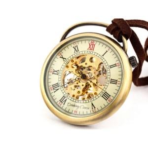 Podróżnik w czasie II golden – zegarek kieszonkowy