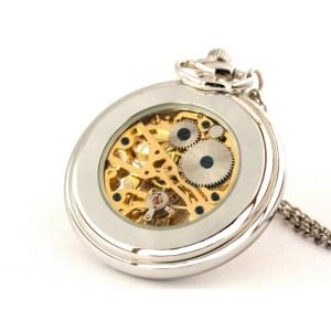Srebrny smok – zegarek kieszonkowy