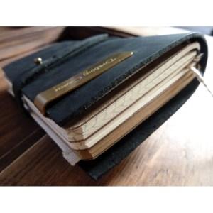 Notes Vintage – Mały / Czarny