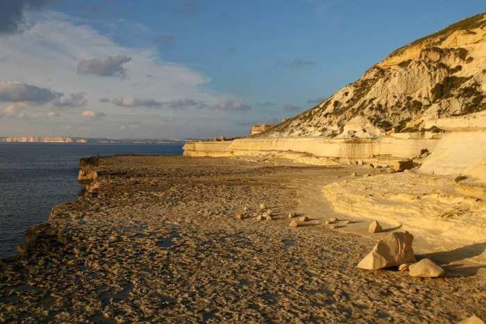 opuszczona plaża