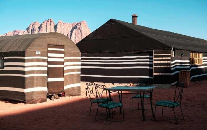 tradycyjne beduińskie namioty