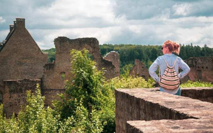 zamek w Larochette