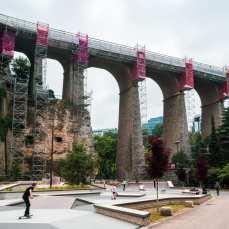 park w centrum stolicy Luksemburga