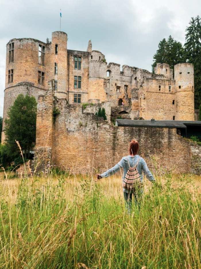 zamek beaufort w luksemburgu