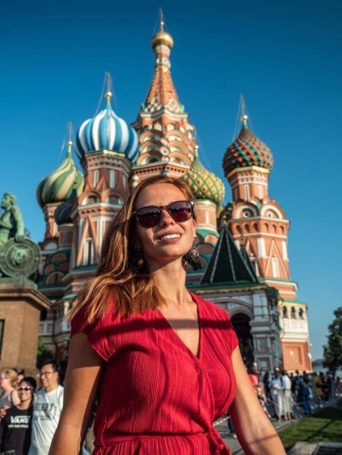 sobór Wasyla w Moskwie