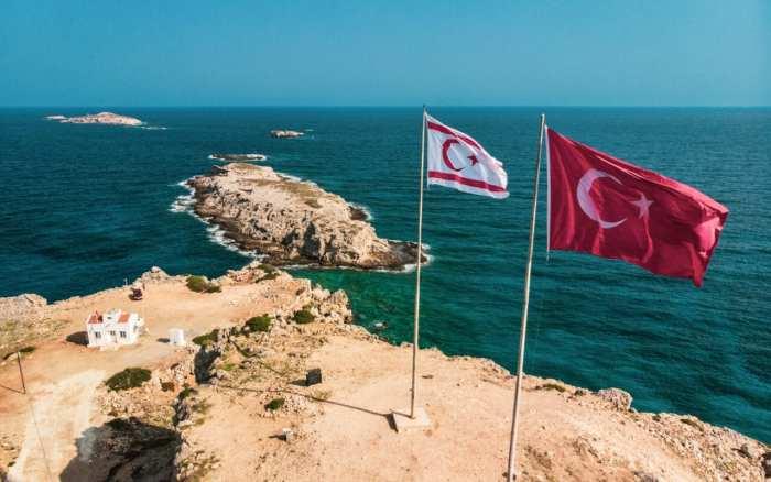 cypr-północny-flaga