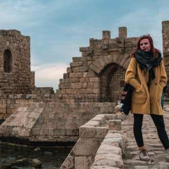 zwiedzanie-libanu-sydon-zamek
