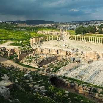 zwiedzanie-jordanii-ruiny-w-jerash