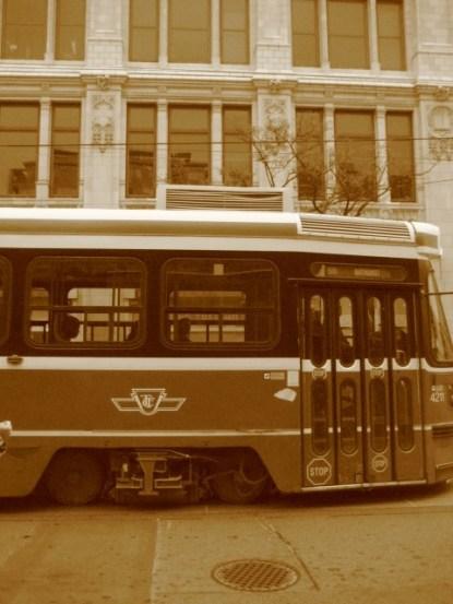 Streetcar on Queen