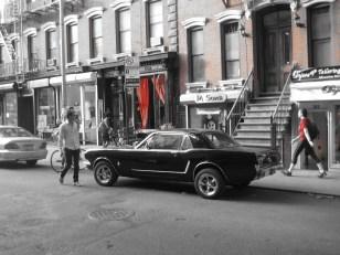 East Village Mustang