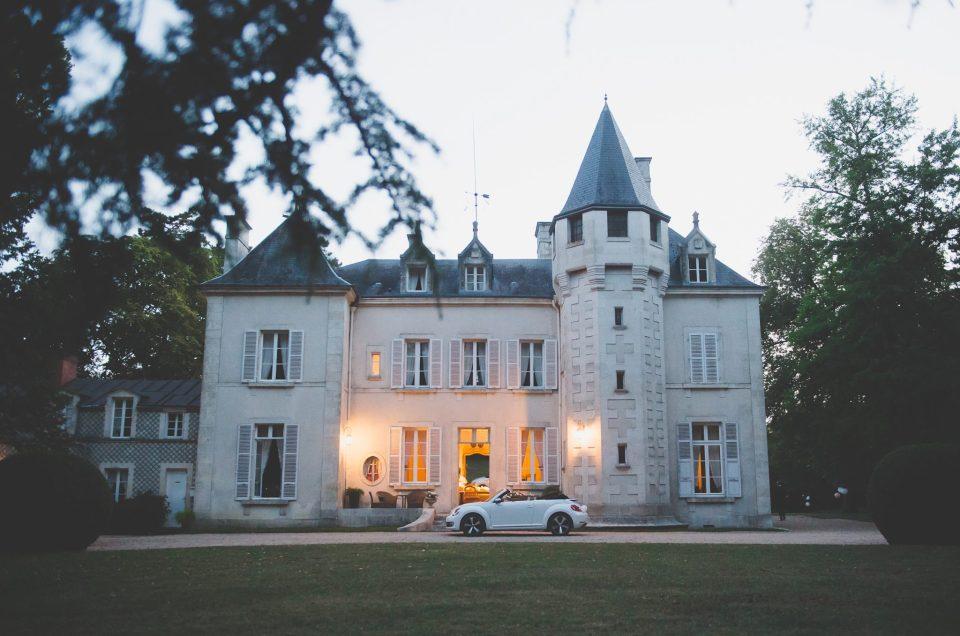 Aleksandra i Erwan | Vierzon – Château de Fay Ślub we Francji