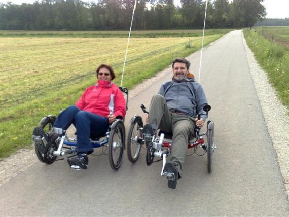 ponovno na kolesu po operaciji