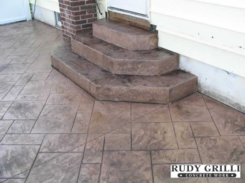 Rudy Grilli Concrete Work  Stamped Decorative Concrete