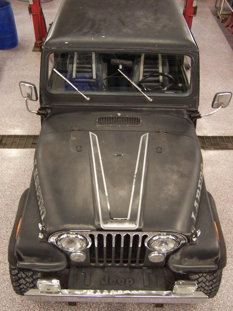 hight resolution of original straight chrome front bumper chrome mirrors grill overlay all in much better than expected condition jeep frame cover