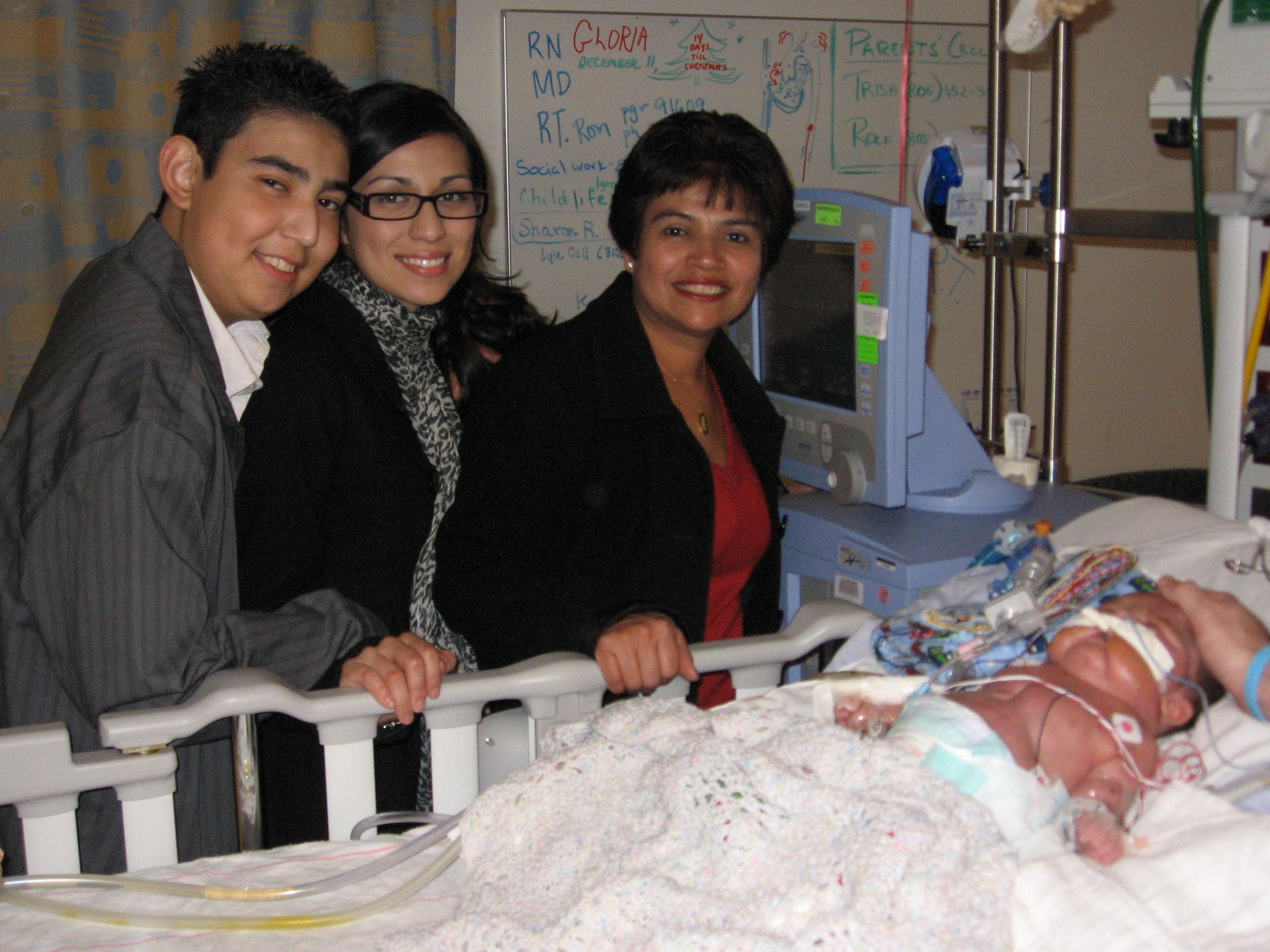 Cesar, Liz and Maria