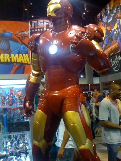 Rudy fights with half a heart; Iron Man needs an Arc-reactor (wimp!)
