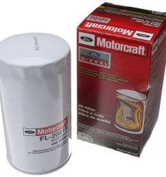 motorcraft oem motorcraft oil filter for 11 17 6 7 powerstroke [ 1200 x 1165 Pixel ]