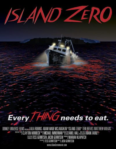 """Best-selling author takes you to """"ISLAND ZERO""""; release ..."""
