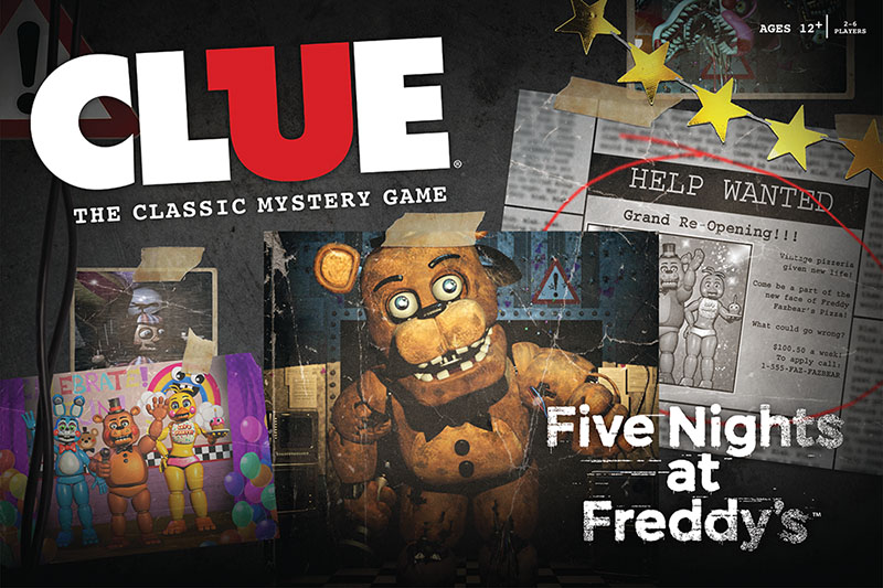 clue five nights at
