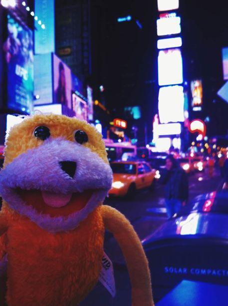 Der Times Square ist genau das richtige für mich!