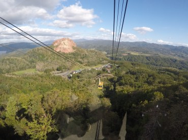 Ropeway to the top