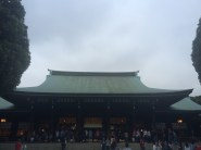 Mejij Shrine close to the Yoyogi Park