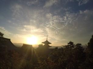 Sunset Kyoto