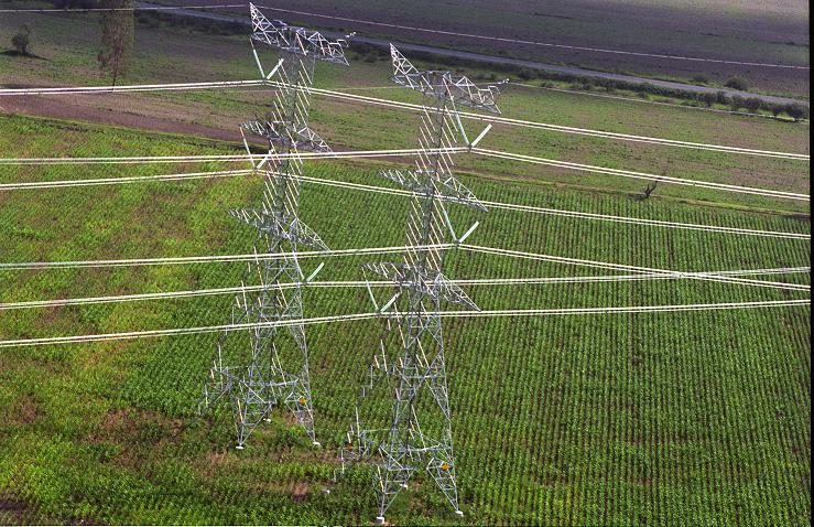 Torres de transmisión de la CFE, el soporte de su red de telecomunicaciones. Foto: Cortesía CFE.