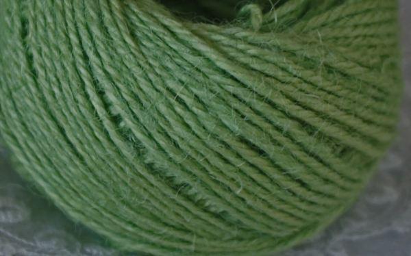 Jute de couleur verte