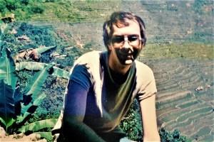 Wer schreibt hier eigentlich? Ruedi 1986 in den Reisterrassen von Banaue/ Philippinen