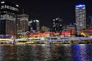 Brisbane City Abendstimmung