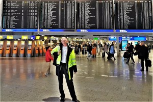 Abflug in Frankfurt