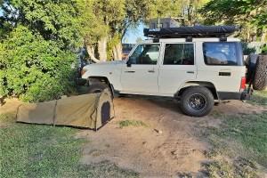 Campingsite near Brisbane