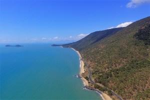 coast line north of cairns australia