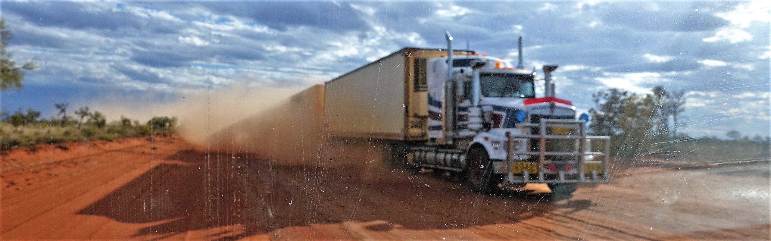 Roadtrain in Australian Outback